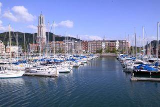 ハウステンボス港の風景