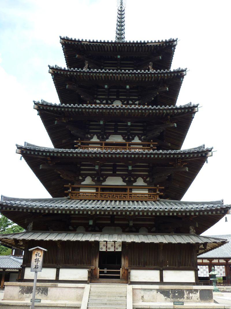 2011 法隆寺 (五重塔)